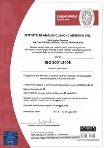 ISTITUTO ANALISI CLINICHE MINERVA - 9001